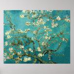 Árbol de almendra floreciente de Van Gogh Impresiones