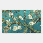 Árbol de almendra floreciente de Van Gogh Rectangular Altavoces