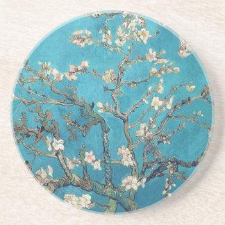 Árbol de almendra floreciente de Van Gogh Posavaso Para Bebida