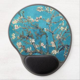Árbol de almendra floreciente de Vincent van Gogh Alfombrilla Gel