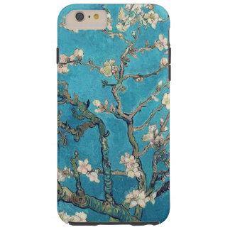 Árbol de almendra floreciente de Vincent van Gogh Funda Para iPhone 6 Plus Tough
