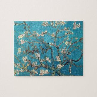 Árbol de almendra floreciente de Vincent van Gogh Puzzle Con Fotos