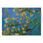 Árbol de almendra floreciente de Vincent van Gogh Tarjetas