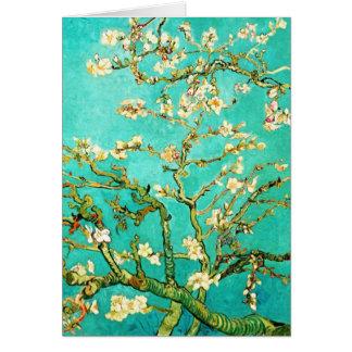 Árbol de almendra floreciente de Vincent van Gogh Tarjeta De Felicitación
