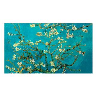 Árbol de almendra floreciente de Vincent van Gogh Tarjetas De Visita