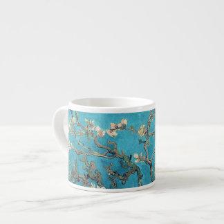 Árbol de almendra floreciente de Vincent van Gogh Taza De Espresso