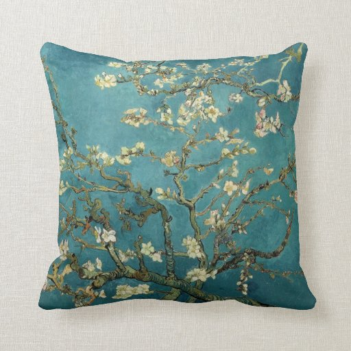 Árbol de almendra floreciente - Van Gogh Cojines