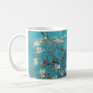 Árbol de almendra floreciente Van Gogh Taza