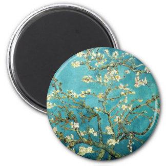 Árbol de almendra floreciente - Vincent van Gogh Imán