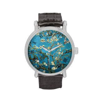 Árbol de almendra floreciente, Vincent van Gogh. Relojes De Mano