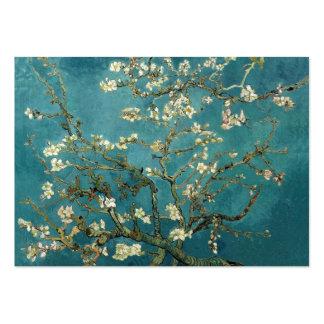 Árbol de almendra floreciente, Vincent van Gogh. Tarjetas De Visita Grandes