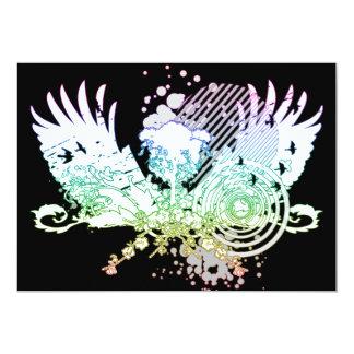 árbol de alta fidelidad del arco iris anuncio personalizado