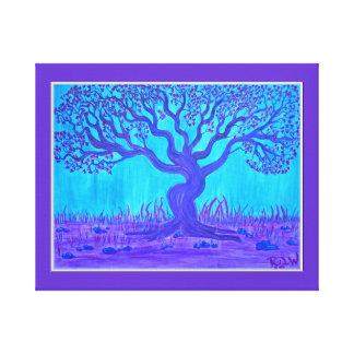 Árbol de amor envuelto de la impresión de la lona impresiones en lona