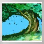 Árbol de amor impresiones