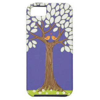 Árbol de amor (noche) iPhone 5 Case-Mate carcasas