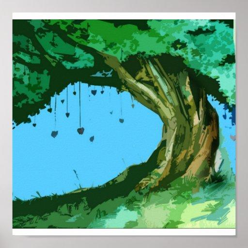 Árbol de amor póster