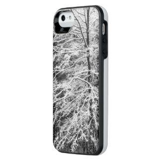 Árbol de arce resumido en caso de la nieve funda power gallery™ para iPhone 5 de uncommon
