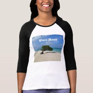 Árbol de Aruba Divi Divi Camiseta