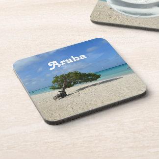 Árbol de Aruba Divi Divi Posavaso