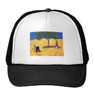 Árbol de August_Macke en aceite y lápiz del campo  Gorras