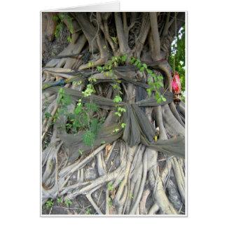 Árbol de Bodhi Tarjeta De Felicitación