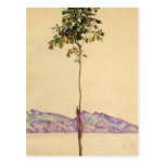 Árbol de castaña de Egon Schiele- en el lago de Co Postal