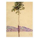 Árbol de castaña de Egon Schiele- en el lago de Co Tarjeta Postal