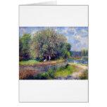 Árbol de castaña de Pierre-Auguste Renoir Tarjeta
