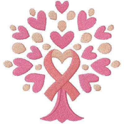 Árbol de cinta rosado polo