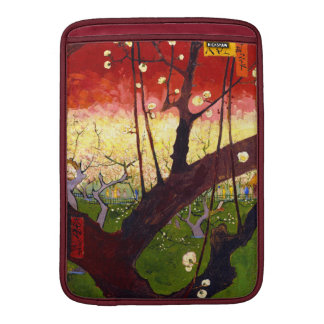 Árbol de ciruelo floreciente de Van Gogh después Funda Macbook Air