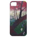 Árbol de ciruelo floreciente de Van Gogh iPhone 5 Carcasas