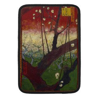 Árbol de ciruelo floreciente de Vincent van Gogh Funda Para Macbook Air