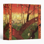 Árbol de ciruelo floreciente japonés de Van Gogh,