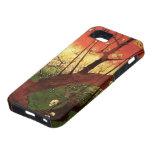 Árbol de ciruelo floreciente japonés de Van Gogh,  iPhone 5 Case-Mate Carcasas