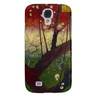 Árbol de ciruelo floreciente samsung galaxy s4 cover