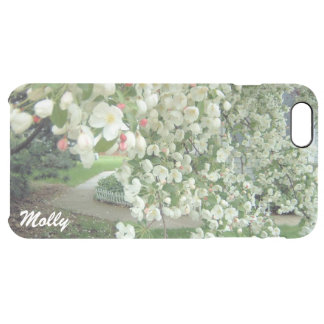 Árbol de Crabapple en el diseño de la floración Funda Clear Para iPhone 6 Plus