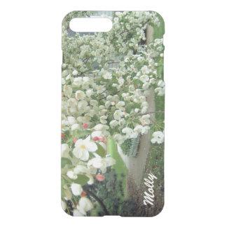 Árbol de Crabapple en el diseño de la floración Fundas Para iPhone 7 Plus