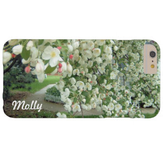 Árbol de Crabapple en modelo femenino floral de la Funda Barely There iPhone 6 Plus