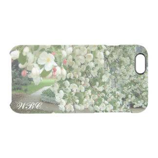 Árbol de Crabapple en modelo femenino floral de la Funda Clear Para iPhone 6/6S