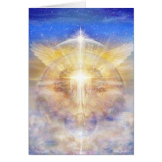 Árbol de Cristo de la luz Tarjeta De Felicitación