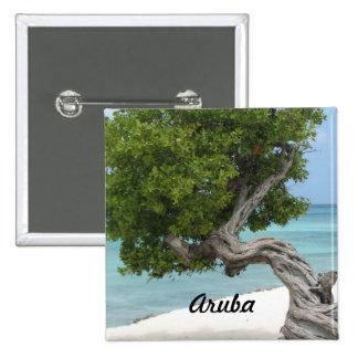 Árbol de Divi Divi en Aruba Pin