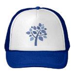 Árbol de familia 100 - azul gorra