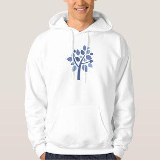 Árbol de familia 100 - azul sudadera