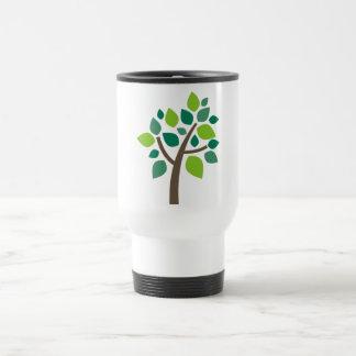 Árbol de familia 100 - verde tazas
