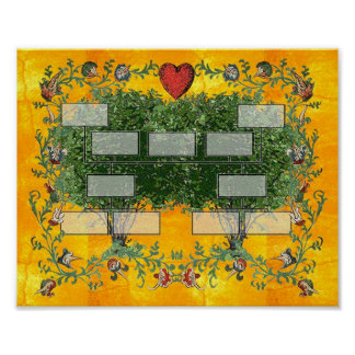 Árbol de familia 5 póster