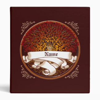 Árbol de familia carmesí