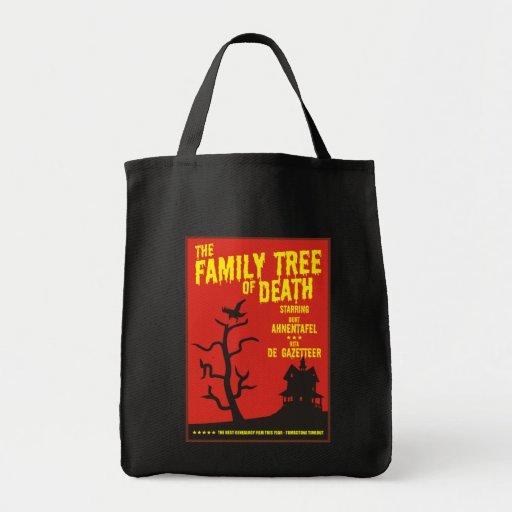 Árbol de familia de la muerte bolsa tela para la compra