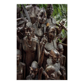 ÁRBOL de FAMILIA de la VIDA - ÁFRICA Impresiones