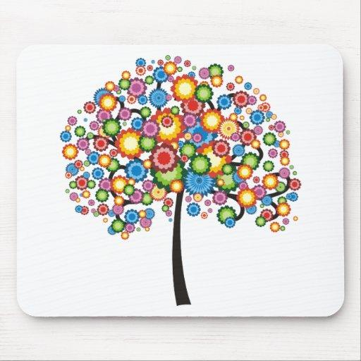 Árbol de familia del deslumbramiento mousepads