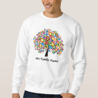 Árbol de familia del deslumbramiento sudadera